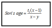 Problem Based on Ages